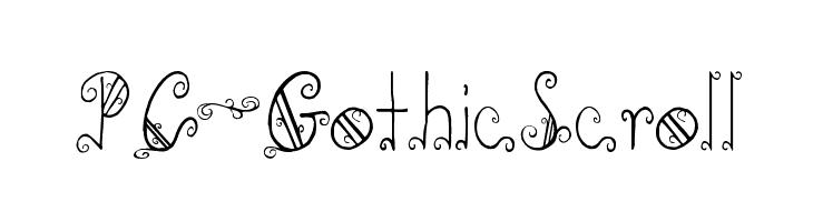 PC-GothicScroll  baixar fontes gratis