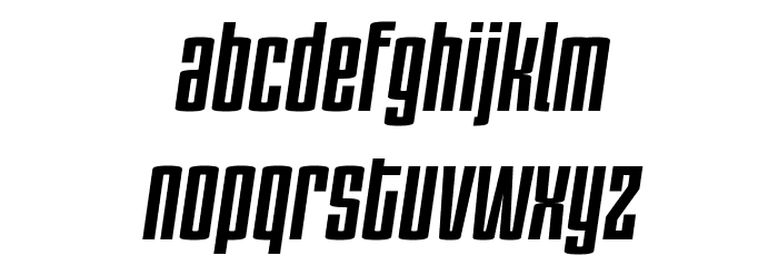 PC.DE Bold Italic फ़ॉन्ट लोअरकेस