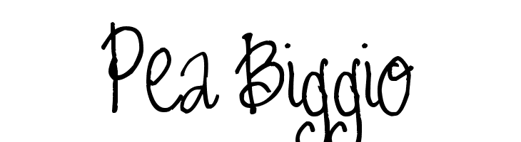Pea Biggio  baixar fontes gratis