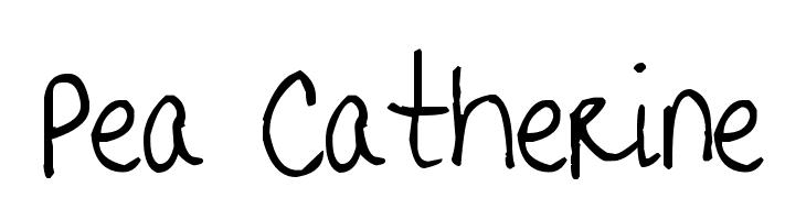 Pea Catherine  baixar fontes gratis