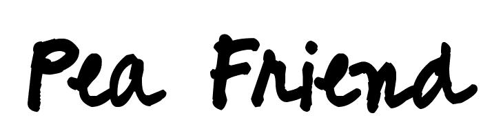 Pea Friend  baixar fontes gratis