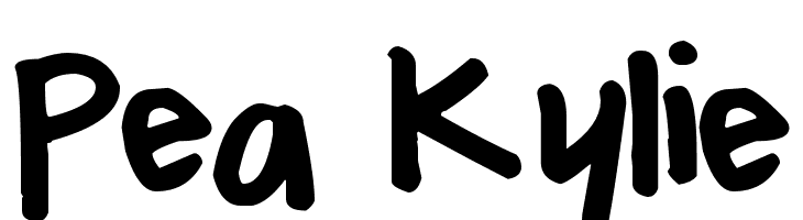 Pea Kylie  Free Fonts Download