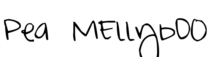 Pea MEllybO0  Descarca Fonturi Gratis