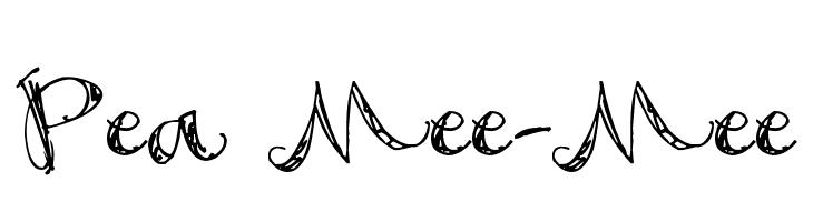 Pea Mee-Mee  नि: शुल्क फ़ॉन्ट्स डाउनलोड