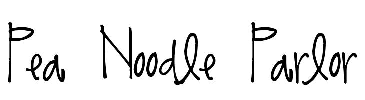 Pea Noodle Parlor  baixar fontes gratis