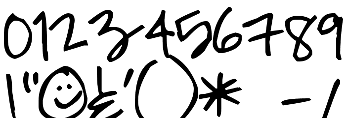 Pea Roxygirl Font OTHER CHARS