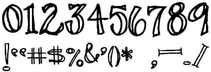 Pea Stacy Fancy Font