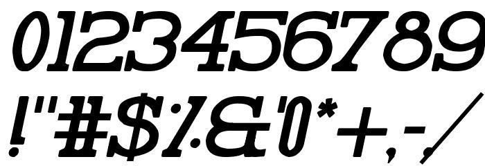 Pelida Italic Bold Font Alte caractere