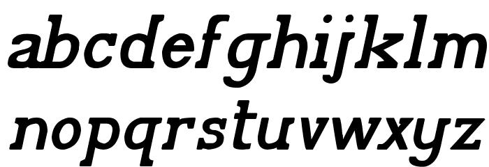 Pelida Italic Bold Font Litere mici