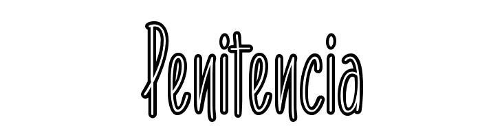 Penitencia  Free Fonts Download