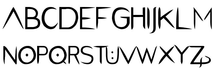 PentaGram s Salemica Eximius Regular Font UPPERCASE