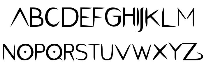 PentaGram s Salemica Eximius Regular Font LOWERCASE