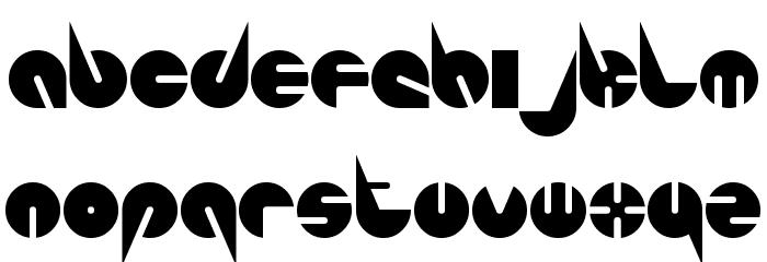 Pepsi-Perfect Font LOWERCASE