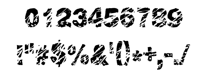 Peroxide Font OTHER CHARS