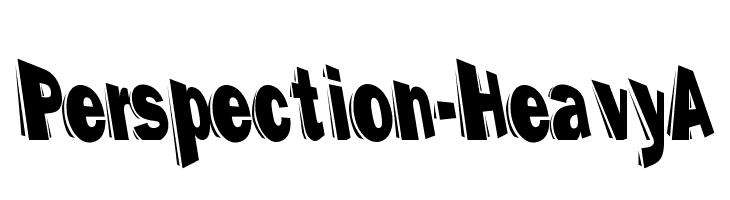 Perspection-HeavyA  baixar fontes gratis
