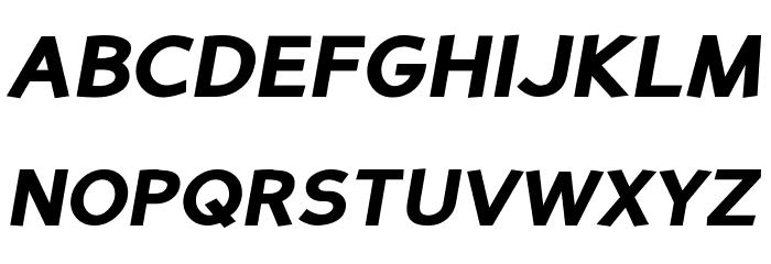 Perspective Sans Black Italic Fonte MAIÚSCULAS