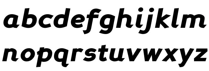 Perspective Sans Black Italic Fonte MINÚSCULAS