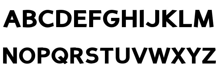 Perspective Sans Black Fonte MAIÚSCULAS