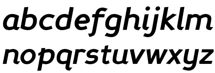 Perspective Sans Bold Italic Fonte MINÚSCULAS