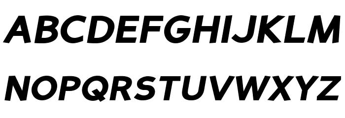 PerspectiveSans-BlackItalic Fonte MAIÚSCULAS