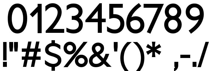 PetitaBold Font OTHER CHARS