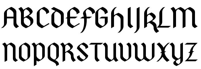 PfefferSGhalbfett-SemiBold फ़ॉन्ट अपरकेस