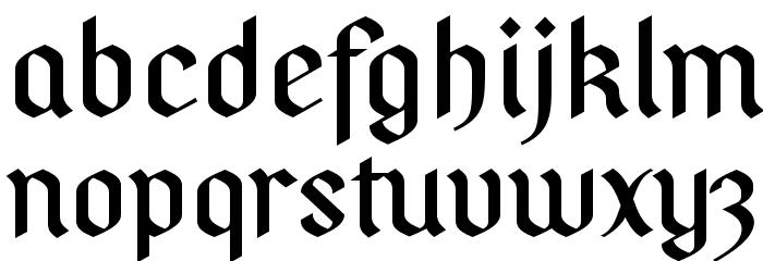 PfefferSGhalbfett-SemiBold फ़ॉन्ट लोअरकेस