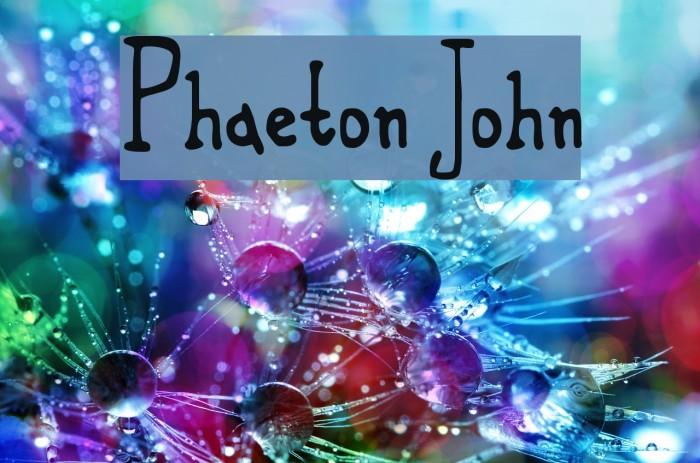 Phaeton John Fuentes examples