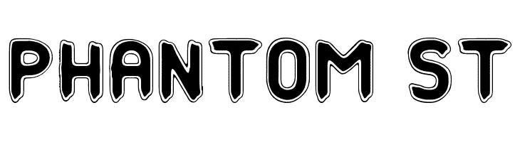 Phantom St  Free Fonts Download