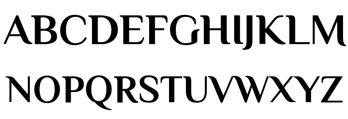 Philosopher Bold Font UPPERCASE