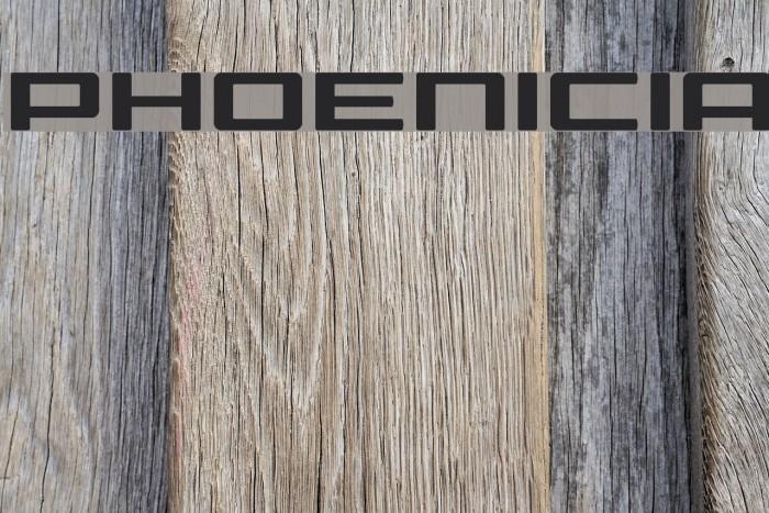 Phoenicia Font examples