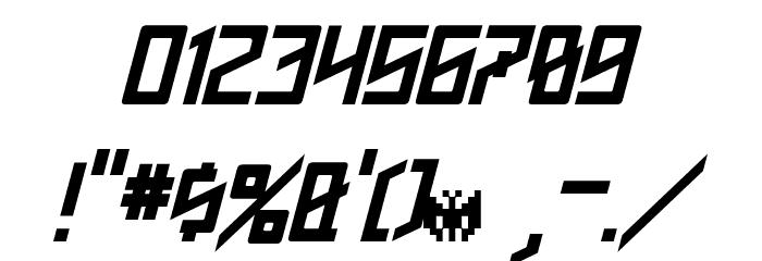 Phoenixians Italic Font OTHER CHARS