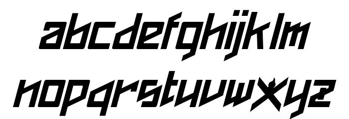 Phoenixians Italic Font LOWERCASE