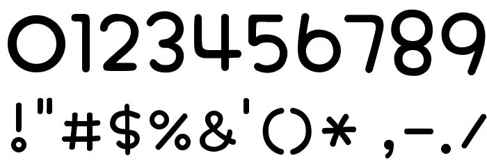 PhonepadTwo Regular Шрифта ДРУГИЕ символов
