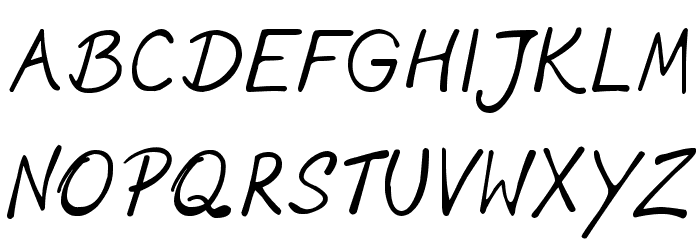 phitradesign INK Font Litere mari