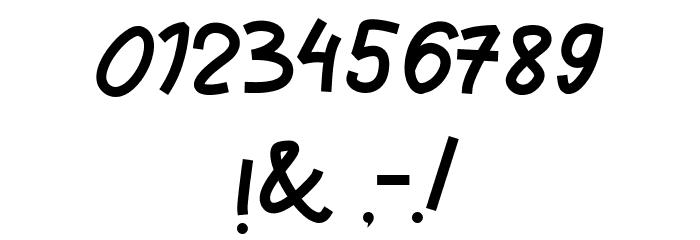 Pianika Шрифта ДРУГИЕ символов