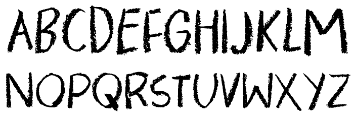 PigmentDEMO Font UPPERCASE