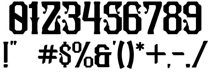 Pilar Typeface Display Font Alte caractere