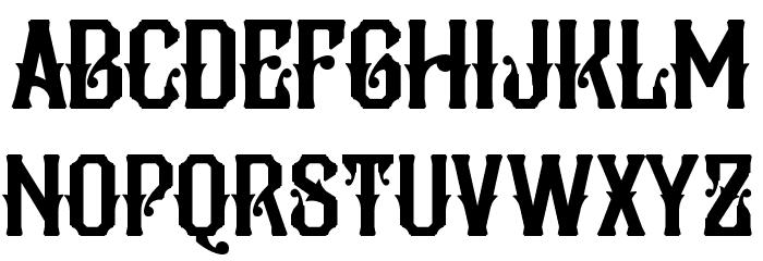 Pilar Typeface Display Font Litere mari