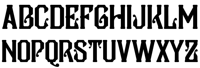 Pilar Typeface Display Font Litere mici