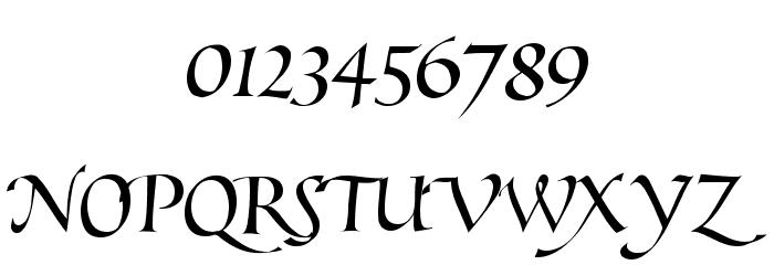 Pimp Шрифта ДРУГИЕ символов