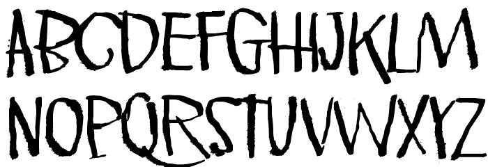 Pink Kangaroo Font UPPERCASE