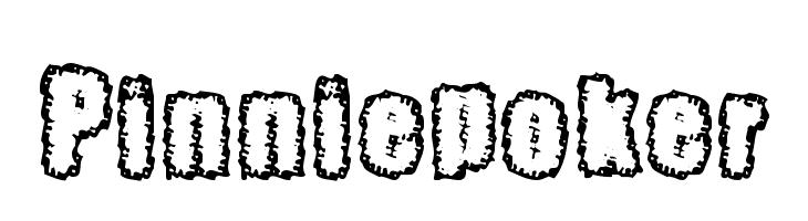 Pinniepoker  Free Fonts Download