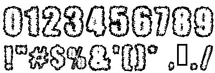 Pinniepoker Font OTHER CHARS
