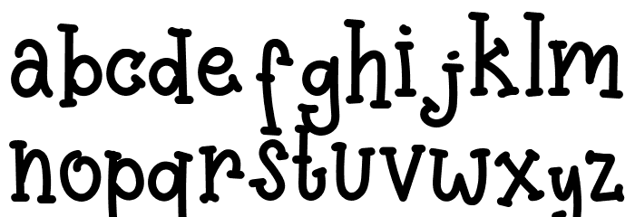 Pinnocio Font Litere mici