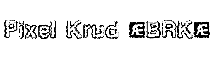 Pixel Krud BRK  Free Fonts Download
