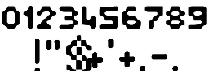 Pixelstitch फ़ॉन्ट अन्य घर का काम