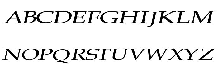 Plain Squashed Font UPPERCASE