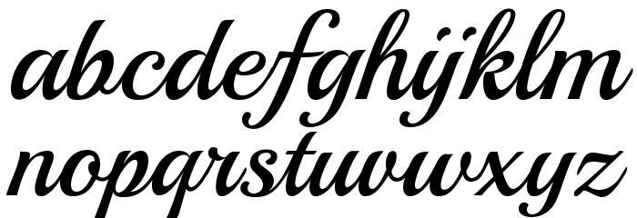Playball-Regular Font LOWERCASE