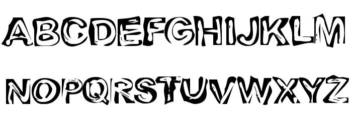 Playdough Font UPPERCASE
